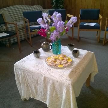 UMW monthly meeting – hospitality
